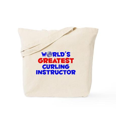 World's Greatest Curli.. (A) Tote Bag