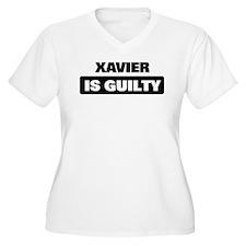 XAVIER is guilty T-Shirt
