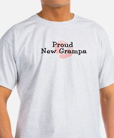 Proud New Grampa G T-Shirt