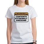 Contents Extremely Awesome Women's T-Shirt