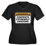 Contents Extremely Awesome Women's Plus Size V-Nec