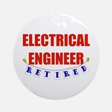 Retired Electrical Engineer Ornament (Round)