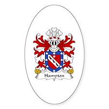 Hampton (mayor of Beaumaris, Anglesey) Decal