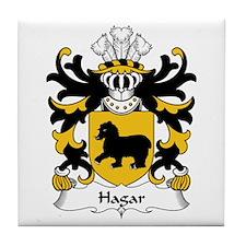 Hagar (Sir David, lord of the Hygar) Tile Coaster