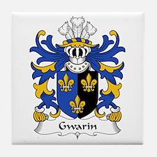 Gwarin (DDU, Monmouthshire) Tile Coaster