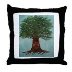 Oaklight Logo Throw Pillow