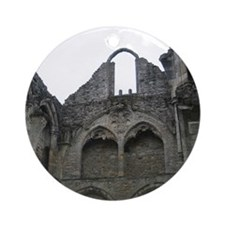 Ghostly Ruins Ornament (Round)