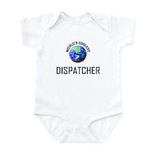 World's Coolest DISPATCHER Infant Bodysuit