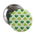 "Patterned Shamrock Art 2.25"" Button (100 pack)"