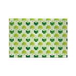 Patterned Shamrock Art Rectangle Magnet (10 pack)