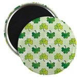 Patterned Shamrock Art Magnet