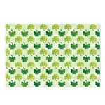 Patterned Shamrock Art Postcards (Package of 8)