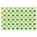 Patterned Shamrock Art Large Poster