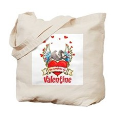 YOU COMPLETE ME VALENTINE Tote Bag