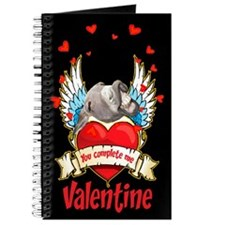 YOU COMPLETE ME VALENTINE Journal