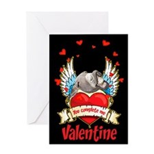 YOU COMPLETE ME VALENTINE Greeting Card