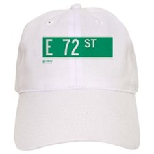 72nd Street in NY Baseball Cap