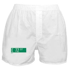72nd Street in NY Boxer Shorts