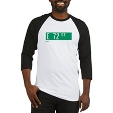 72nd Street in NY Baseball Jersey