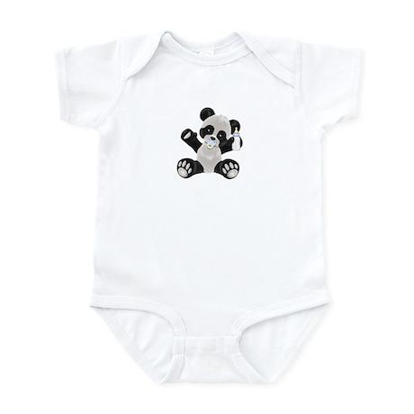 Baby Panda Boy Infant Bodysuit