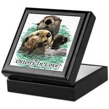 Otterly In Love Keepsake Box