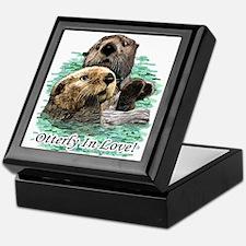 Otterly In Love Keepsake Box