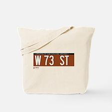 73rd Street in NY Tote Bag