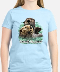 Otterly In Love T-Shirt