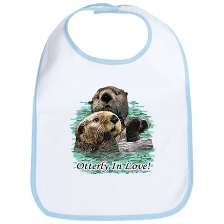 Otterly In Love Bib