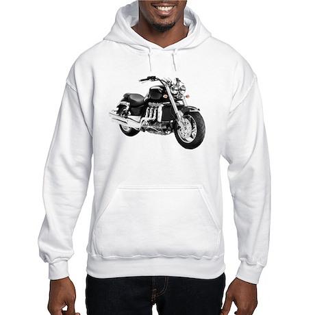 Triumph Rocket III Black #3 Hooded Sweatshirt