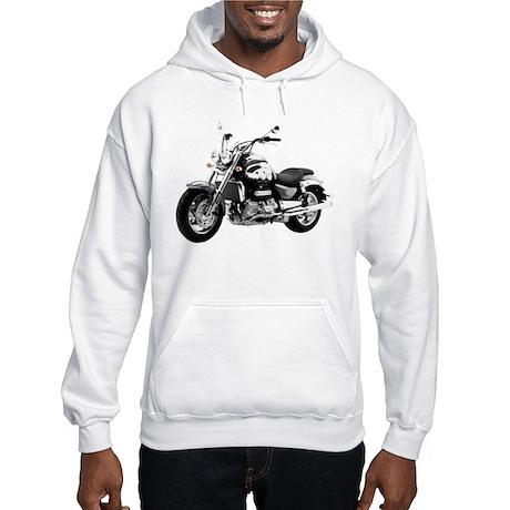 Triumph Rocket III Gray #1 Hooded Sweatshirt