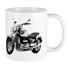 Triumph Rocket III Gray #1 Small Mug