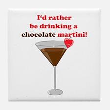 Chocolate Martini Tile Coaster