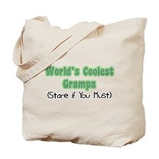 World's Coolest Grampa Tote Bag