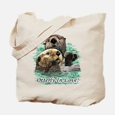 Otterly In Love Tote Bag