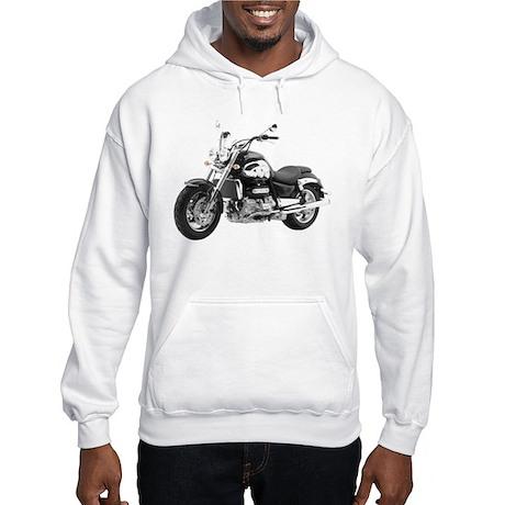 Triumph Rocket III Black #1 Hooded Sweatshirt