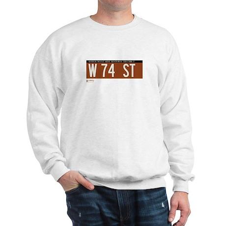 74th Street in NY Sweatshirt