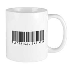 Electrical Engineer Bar Code Mug
