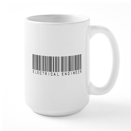 Electrical Engineer Bar Code Large Mug