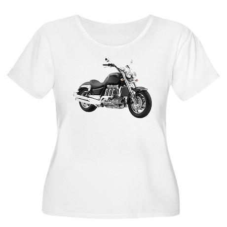 Triumph Rocket III Black #2 Women's Plus Size Scoo