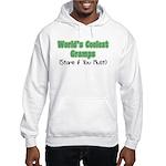 World's Coolest Gramps Hooded Sweatshirt