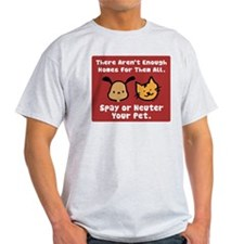Too Few Homes Spay & Neuter T-Shirt