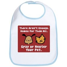Too Few Homes Spay & Neuter Bib