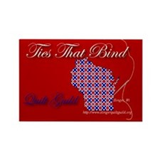 Ties That Bind Quilt Guild Rectangle Magnet