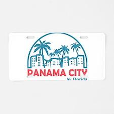 Summer panama city- florida Aluminum License Plate