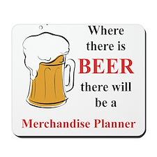 Merchandise Planner Mousepad