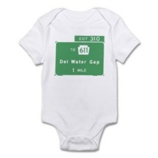 Delaware Water Gap T-shirts P Infant Bodysuit