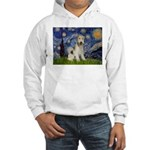 Starry / Fox Terrier (W) Hooded Sweatshirt