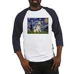 Starry / Fox Terrier (W) Baseball Jersey