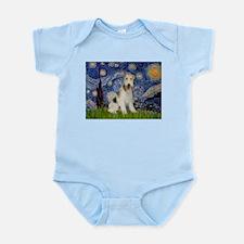 Starry / Fox Terrier (W) Infant Bodysuit